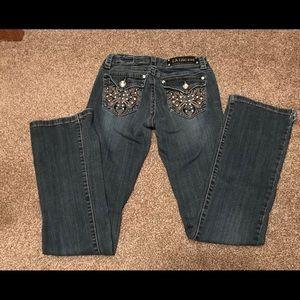LA Idol USA jeans size 3 (28x34)